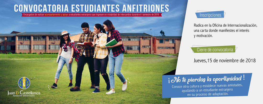 Convocatoria Estudiantes Anfitriones