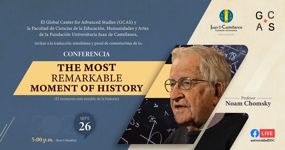 "Conferencia Internacional ""The Most Remarkable Moment of History"""
